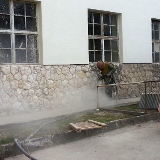 Čistenie fasády pieskovaním | Pemtrade.sk