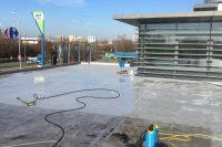 Čistenie a renovácia strechy firemnej prevádzky, Bratislava | pemtrade.sk