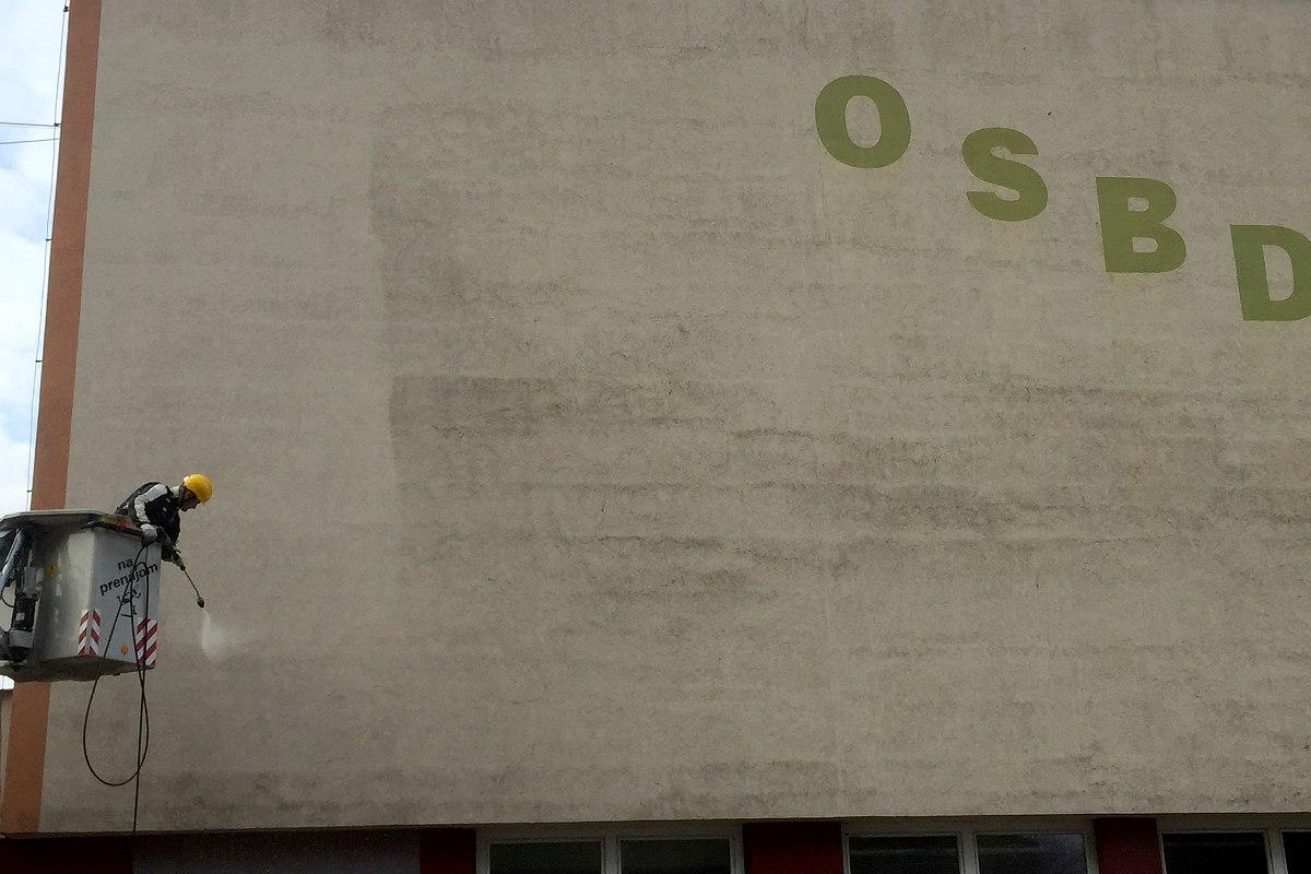 Profesionálne čistenie fasády, OSBD Púchov | pemtrade.sk