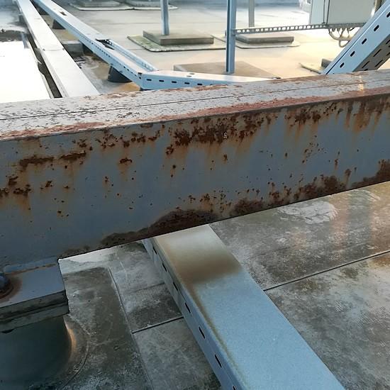 Zhrdzavené oceľové konštrukcie na streche | pemtrade.sk
