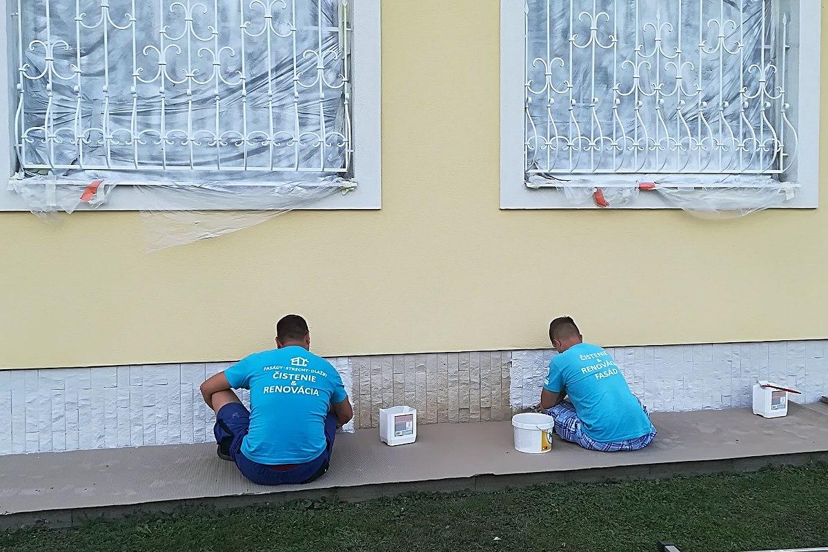 Renovácia fasády rodinného domu, Slovensko | pemtrade.sk