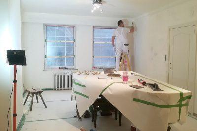 Maliarske práce v interiéri rodinného domu, Belgicko | pemtrade.sk