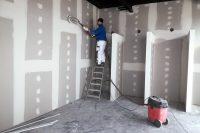 Maliarske práce v interiéri obchodného centra, Belgicko | pemtrade.sk