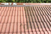 Špinavá strecha vs. vyčistená strecha | pemtrade.sk