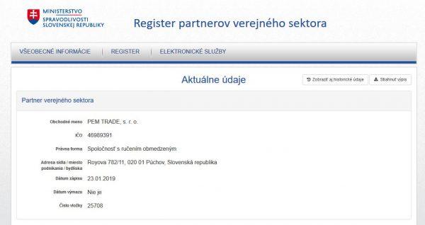 Sme partnermi verejného sektora | pemtrade.sk