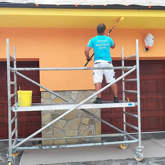 Renovácia a maľovanie fasády na rodinnom dome | pemtrade.sk