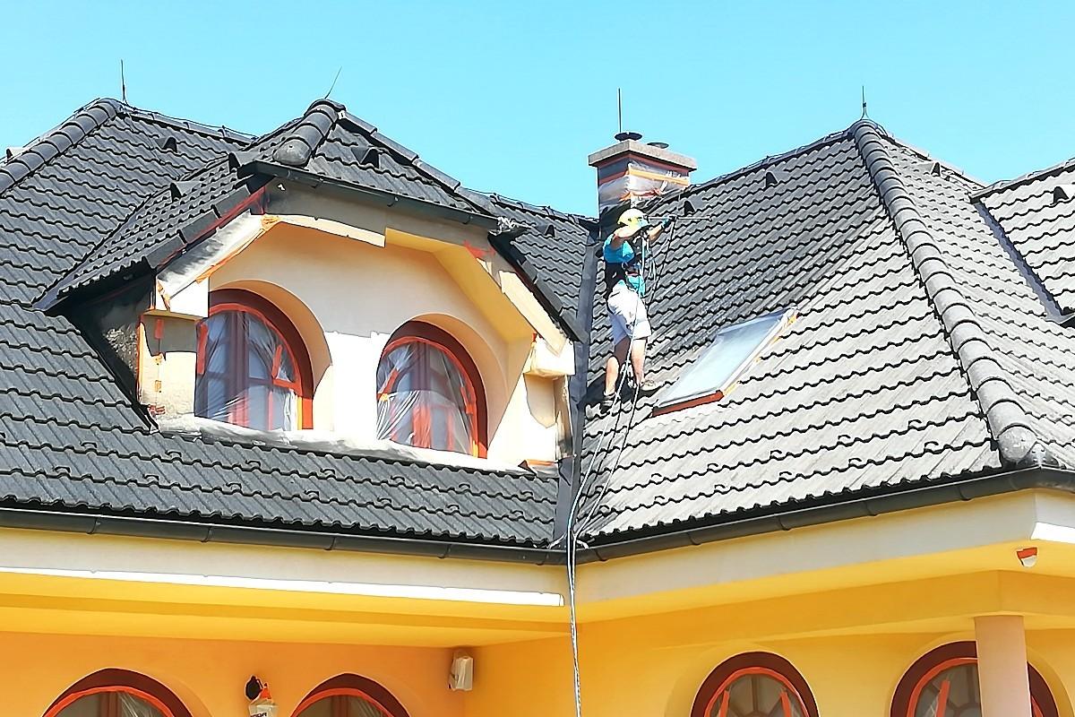 Maľovanie strechy