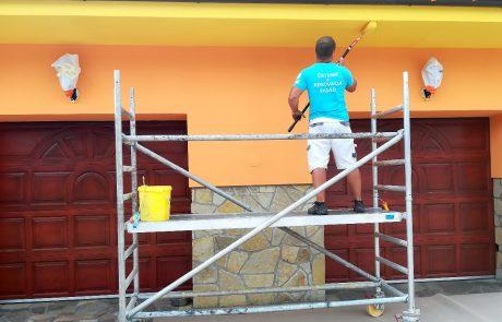 Maľovanie fasády