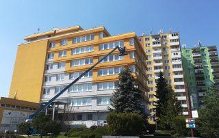 Profesionálne čistenie fasád bytových domov | Pemtrade.sk