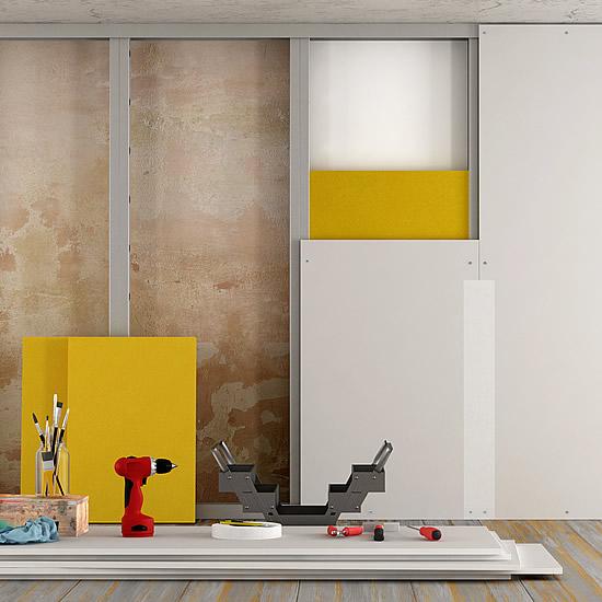 Montáž sadrokartónovej steny rýchlo a kvalitne | Pemtrade.sk