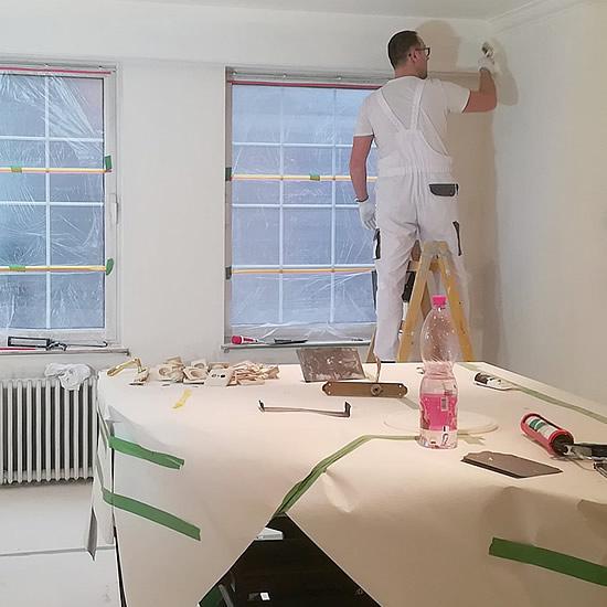 Maľovanie interiéru so smyslom pre detaily | Pemtrade.sk