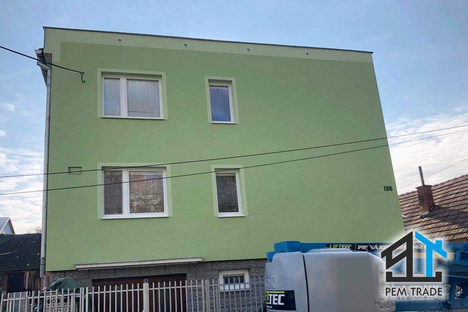 Čistenie fasád bytových domov, rodinných domov a iných objektov   Pemtrade.sk