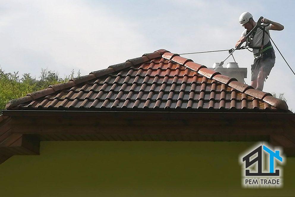 Čistenie striech bytových domov, rodinných domov a iných objektov | Pemtrade.sk