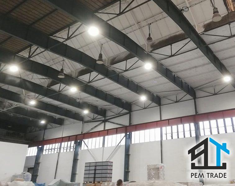 Maľovanie priemyselných objektov a výrobných hál | Pemtrade.sk