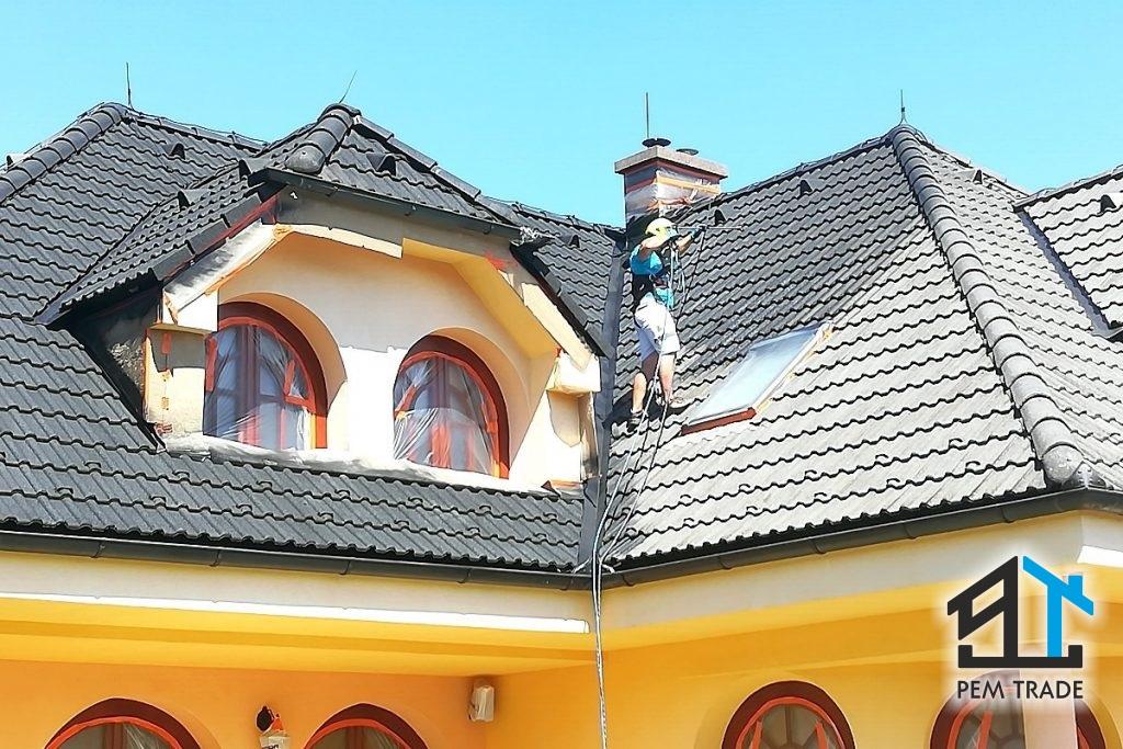 Profesionálne maľovanie a obnova striech domov | Pemtrade.sk