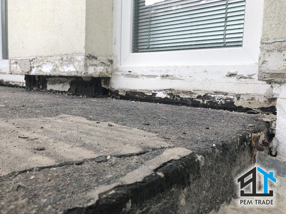 Renovácia a hydroizolácia balkónov bytových domov, rodinných domov a iných objektov | Pemtrade.sk